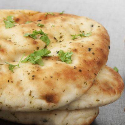 garlic and coriander naan